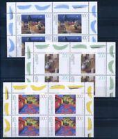 Deutschland Bund 1995 Mi. 1774-1776 Postfrisch 100% Malerei, vierer block