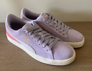 PUMA Suede Classic Jr Youth Girls Sneakers Purple Size 5.5
