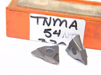 NEW SURPLUS 8PCS. CARBOLOY  TNMA 54NT  GRADE: 370  CARBIDE INSERTS