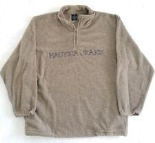 Vintage Nautica Jeans Co Quarter Zip Fleece Spell Out Size L