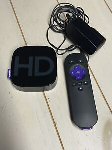 Roku 2 Digital HD Media Streamer Model 3000X with AC Adapter & Remote