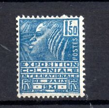 France 1930 1f 50c Colonial Exhibition mint MH #491 WS20998