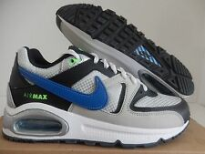 NIKE AIR MAX COMMAND (GS) SILVER-BLUE-BLACK SZ 4Y-WOMENS SZ 5.5 [407759-010]