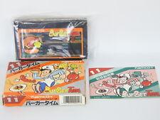 Burger Time 11 First Versión Ref / 1024 Famicom Nintendo Japón Game FC