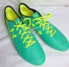 78fa620ca292 Men's Under Armour Speedform Football Cleats Size 13 NWOB Green Yellow Neon  SH2
