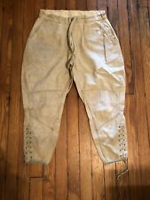"""Summer Vintage motorcycle racing riding pants leathers breeches 1940's 30"""" Waist"""