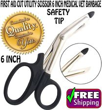 6 INCH EMT Scissors Shears Bandage Paramedic Trauma Medical Doctor First Aid
