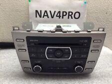 2009 2010 Mazda 6 Radio 6 DISC Cd Player Oem GS3N669RXD #A133