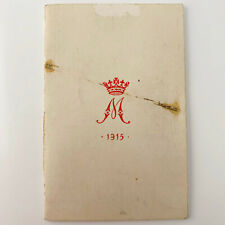 WW1 Princess Mary 1914 Christmas Gift Box Tin Fund Contents 1915 New Years Card