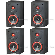 Two Pair 4 Cerwin Vega SL-5M Bookshelf Speakers 5 1/4