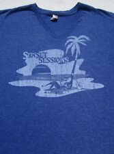 Michele Clark's Sunset Sessions 2014 concert MEDIUM T-SHIRT ziggy marley