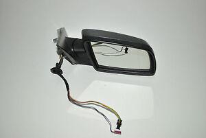 BMW 5-SERIES E60 E61 03-10 Puissance Pliable Rétroviseur avec Lumière Droit LHD