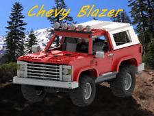 *custom* Lego Chevy Blazer - INSTRUCTION MANUAL ONLY