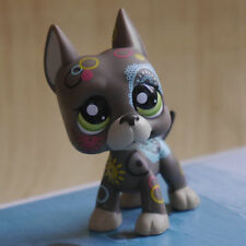 LPS COLLECTION LITTLEST PET SHOP Brown Great Dane dog RARE TOY 3""