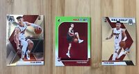 2019-20 Tyler Herro 3 Card Lot Rookie RC Hoops Green Rare Mosaic Miami Heat NBA