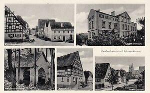 Ansichtskarte Bayern  8824  Heidenheim am Hahnenkamm  Ledergasse  Krankenhausstr