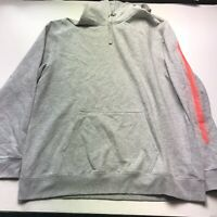Merrell Gray Orange Graphic Banner Hoody Hoodie Size XL New A259