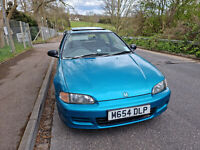 1995 HONDA CIVIC EG 1.3 HATCHBACK MANUAL - 99P NO RESERVE LTD EDITION MARLIN 3DR