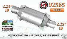 """92565 Eastern Universal Catalytic Converter ECO III 2.25"""" 2 1/4"""" Pipe 10"""" Body"""