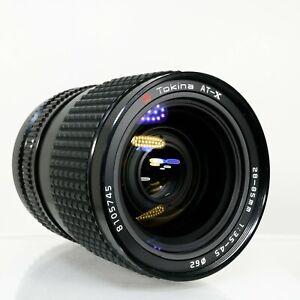 Tokina AT-X Wide/Standard Zoom 28-85mm f/3.5-4.5 MF Lens | Nikon F/Ai| Near Mint