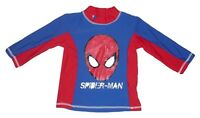 Boys swimming top swim wear upf 40+ official spiderman  3-10 years old