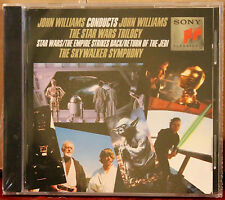 SONY SK 45947 CD: John Williams Conducts The Star Wars Trilogy - 1990 SEALED