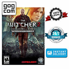 The Witcher 2 Assassins of Kings Enhanced Edition - PC GOG Key [Blitzversand]