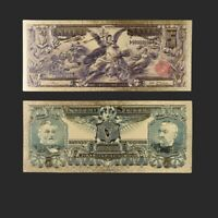 1902 $5 NATIONAL CURRENCY WILLMAR MINNESOTA BEN HARRISON NOTE ~~REPRODUCTION~~