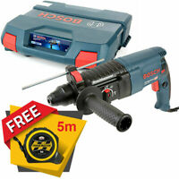 Bosch GBH 2-26 SDS+ Hammer Drill 240V With Free Pocket Tape Measures 5M/16ft