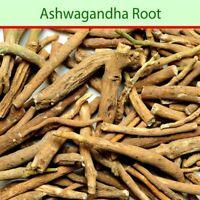 Ashwagandha Roots Withania Somnifera Indian Ginseng Raw & Whole Herbs FREE SHIP