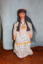 OLD cloth girl doll