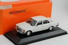 Mercedes-Benz 230 E W123 White 1982 Diecast 1:43 Minichamps Maxichamps