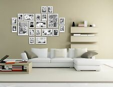20 pcs photo picture frame wall art collection decor  frames gift present white