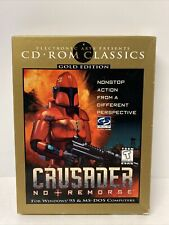 Crusader: No Remorse CD-ROM Classics: Gold Edition (PC, 1997)