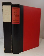 A Man Must Fight - Gene Tunney 1932 Houghton Signed Limited