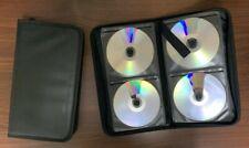 1 x 48 Sleeve CD Wallet - DVD Blu Ray Disc Wallet - 48 Disc Holder