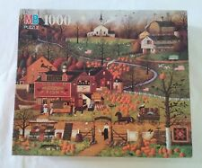 Charles Wysocki Jigsaw Puzzle Black Birds Roost at Mill Creek *Missing 1 Piece*