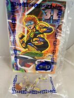 3-D Spy Kids McDonald's 2003 #6 New in sealed package bag Figure Comic & Glasses