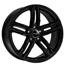 Wheelworld WH11 8x18 5x112 ET45 SW+ schwarz glanz Audi A3 A6 VW Seat Skoda 57,1