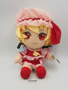 """Touhou Project B2408 Flandre Scarlet TAITO Prize Plush 7"""" TAG Toy Doll Japan"""