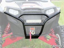 SuperATV Polaris RZR 800 / 800 S / 800 4 / 900 XP Sport Front Bumper - BLACK