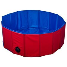 Animal Pet Wash Bath Playpen PVC Water Pool Foldable Washable Portable Puppy Ø80