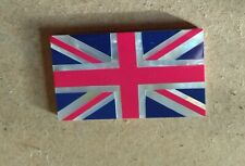 Superb Union Jack Plaque  Inlaid with Mother of Pearl   45 x 26 mm