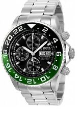 New Invicta 21646 Automatic Chronograph Valjoux 7750 Green Bezel Watch #2 of 200