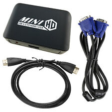 USB 3.0 to HDMI VGA Dual Display Output Duplicate Adapter 1080P Video Cables Set