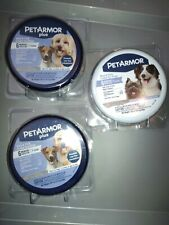 3 pk. Pet Armor flea and tick control collars for dogs 12 wks. & Older