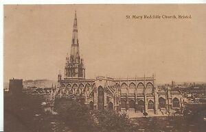 Bristol Postcard - St Mary Redcliffe Church   ZZ1809