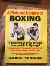 1987 A Pictorial History of Boxing Book by Sam Andre & Nat Fleischer Mike Tyson