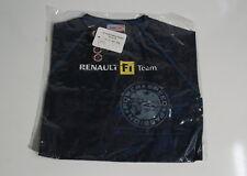 ING Renault F1 Niño de 8 año de edad Réplica Camiseta Nueva con etiqueta Power Speed Passion