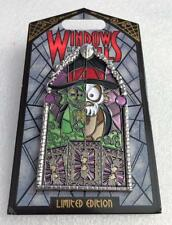 Disney Windows Of Evil Princess and The Frog Dr Facilier Stained Glass Le Pin